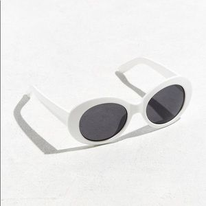 NWOT urban white clout glasses